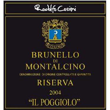 """Brunello di Montalcino Riserva """"Il Poggiolo"""""""